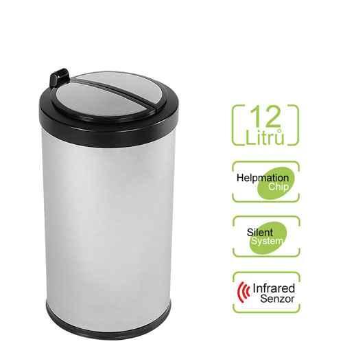 Bezdotykový odpadkový koš MINI 12 l Helpmation DZT 12-18