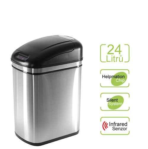 Bezdotykový odpadkový koš ORIGINAL 24 l Helpmation DZT 24-1