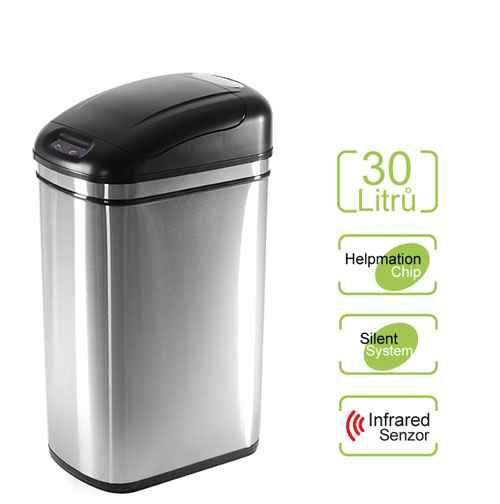 Bezdotykový odpadkový koš ORIGINAL 30 l Helpmation DZT 30-1