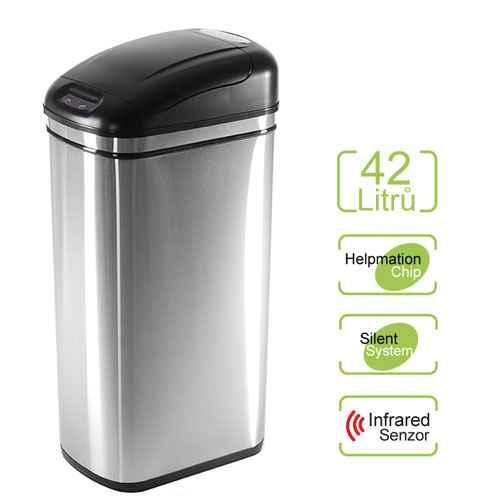 Bezdotykový odpadkový koš ORIGINAL 42 l Helpmation DZT 42-1