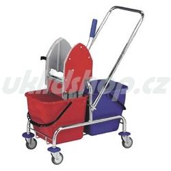 Dvojkbelíkový úklidový vozík DUO 2 x 17 l 21001C