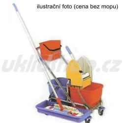 Dvojkbelíkový úklidový vozík CLAROL PLUS II