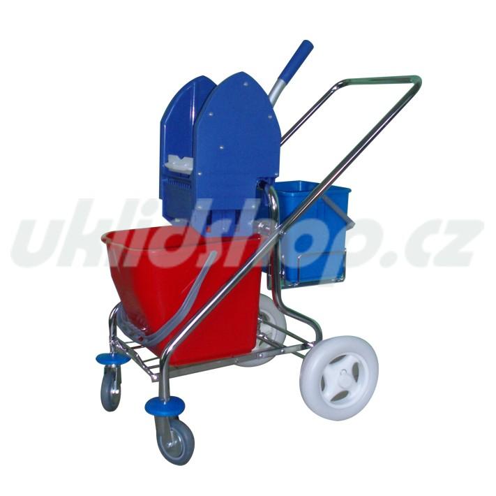 Jednokbelíkový úklidový vozík STANDARD PLUS