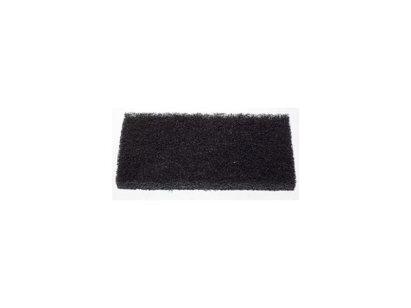 PAD náhradní obdelníkový 25 x 12 cm černý