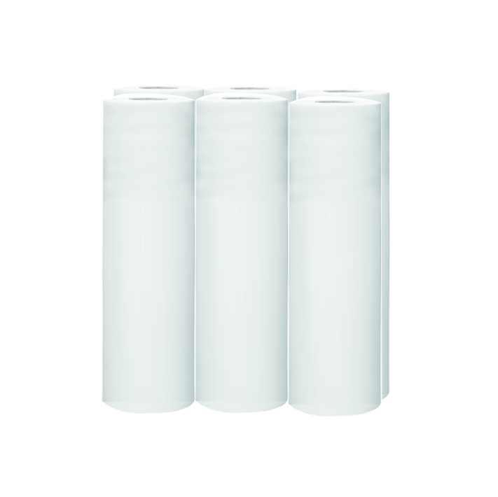 Papírová prostěradla 60/50 WHITE 12cm 6ks