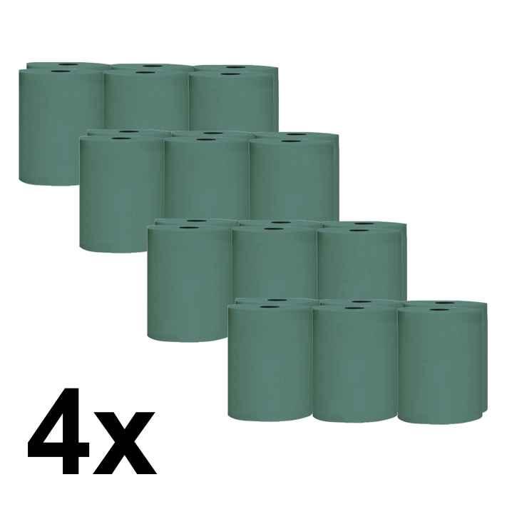 Papírové ručníky ROLL BASIC 19cm - pack 4 x 6 rolí