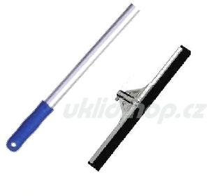 Sestava podlahová stěrka 55 cm kovová + tyč 130 cm