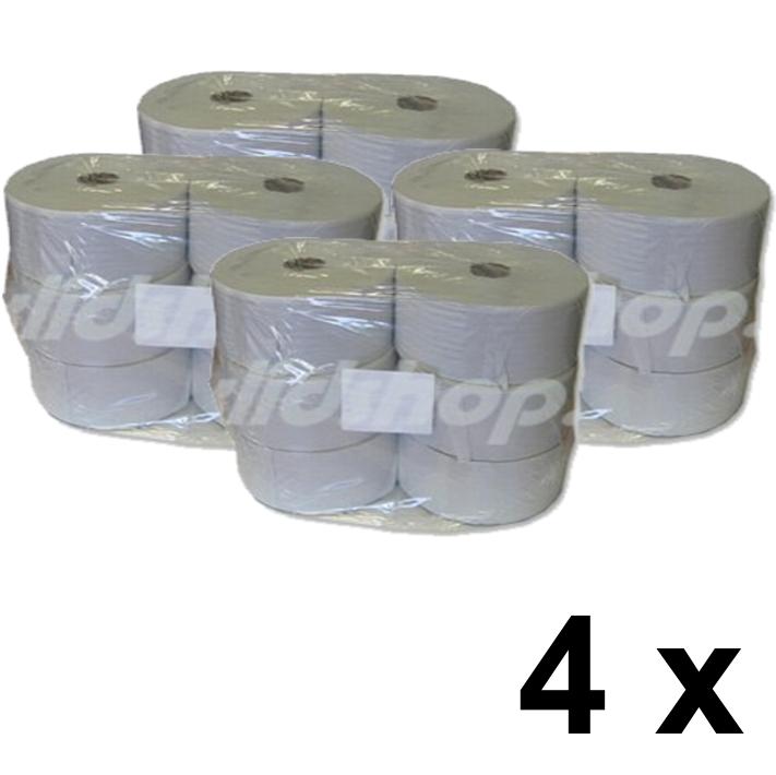 Toaletní papír JUMBO BASIC 28 cm - pack 4 x 6 rolí
