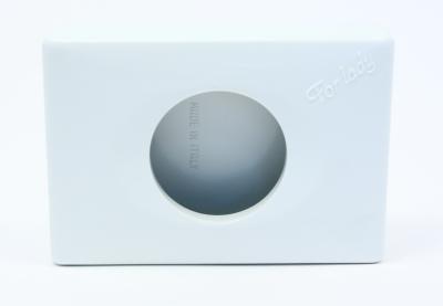 Zásobník na mikrotenové hygienické sáčky bílý