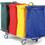 Vozíky na prádlo, odpad, třídění odpadu