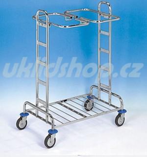 Úklidový vozík KOMBI 22 - 2x120 l