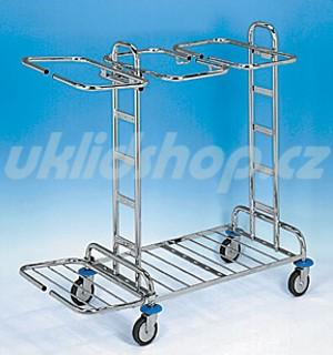 Úklidový vozík KOMBI 23 - 3x120 l