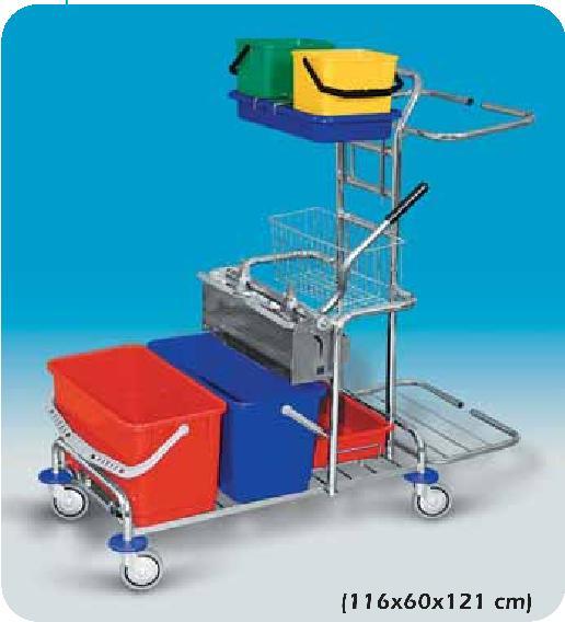 Speciální úklidový vozík CARF III