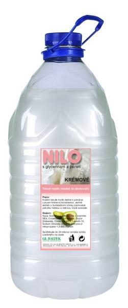 Tekuté mýdlo NILO krémové 5l bílé