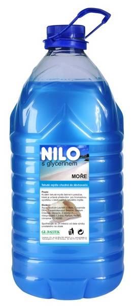 Tekuté mýdlo NILO moře 5l modré