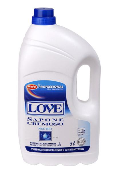 LOVE SAPONE NEUTRO LATTE 5l