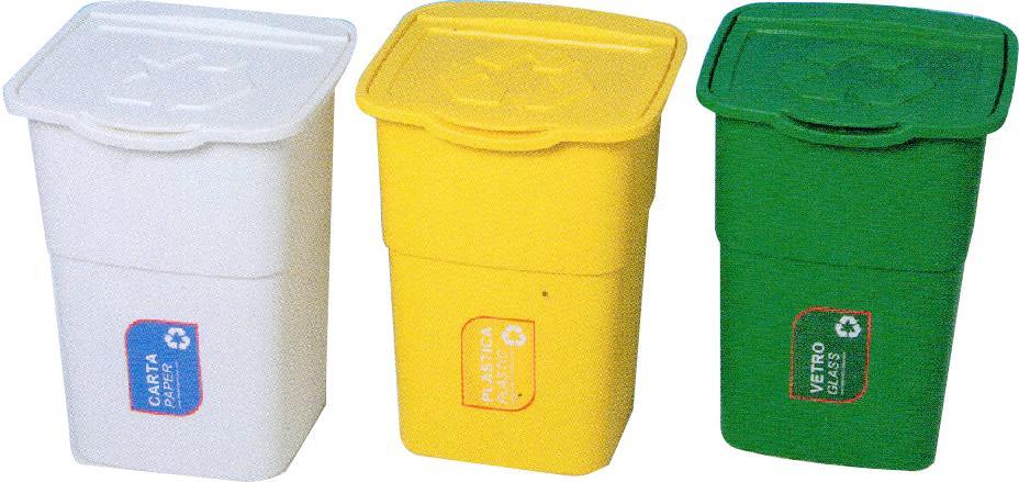 Koš odpadkový sada 3ks