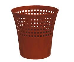 Koš odpadkový děrovaný plastový 12l