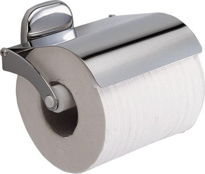 Držák toaletního papíru DELUX, s krytem