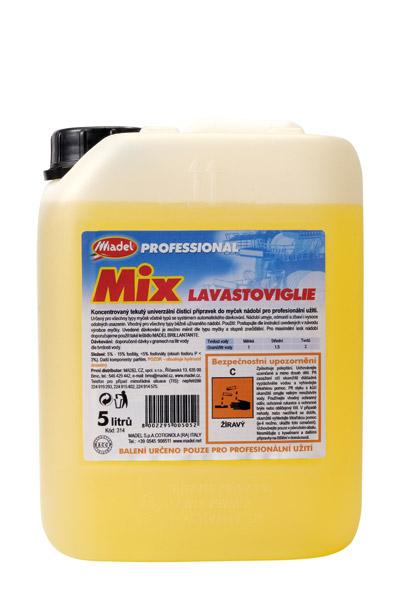 MIX LAVASTOVIGLIE - mycí prostředek do myček 5 l