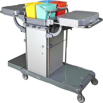 Profesionální úklidový vozík LOCKER VAK