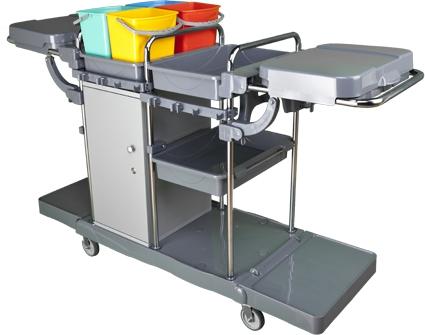 Profesionální úklidový vozík LOCKER VAK PLUS