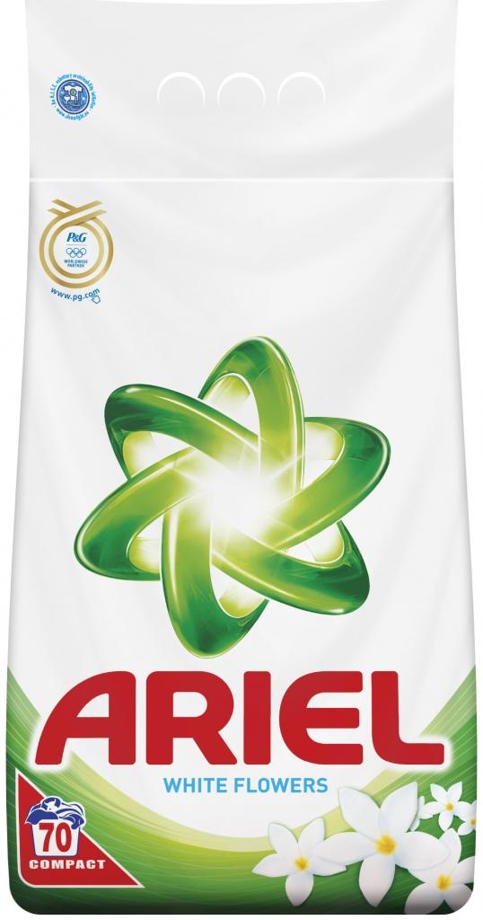 Prací prášek ARIEL 4,9kg / 70 pracích dávek White