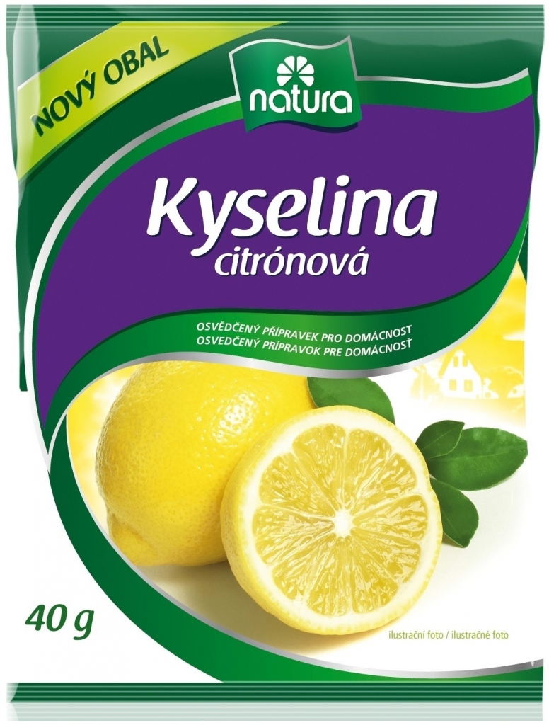 Kyselina citronová 40g