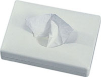 Zásobník na mikrotenové hygienické sáčky bílý K