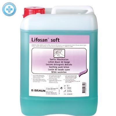 LIFOSAN SOFT tekuté mýdlo 5l