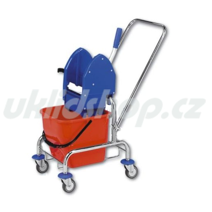 Jednokbelíkový úklidový vozík STANDARD 1 x 17 l
