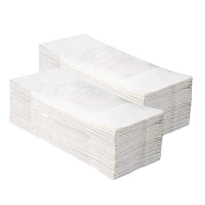Papírové ručníky ZZ PLUS- bílé 4000 ks