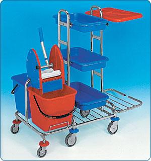 Úklidový vozík KOMBI MINI III