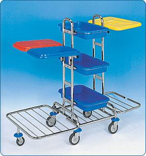 Úklidový vozík KOMBI MINI PLUS