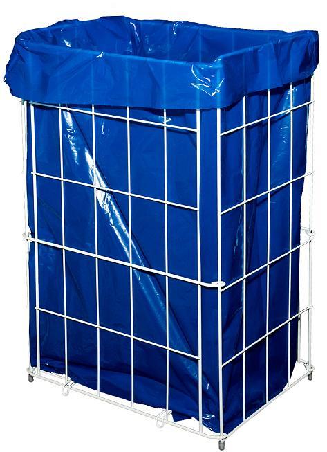 Drátěný odpadkový koš 60l skládací