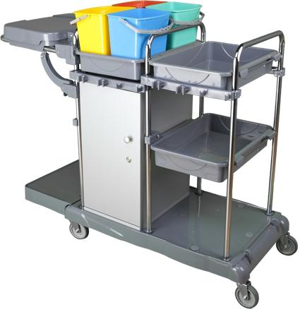 Profesionální úklidový vozík LOCKER