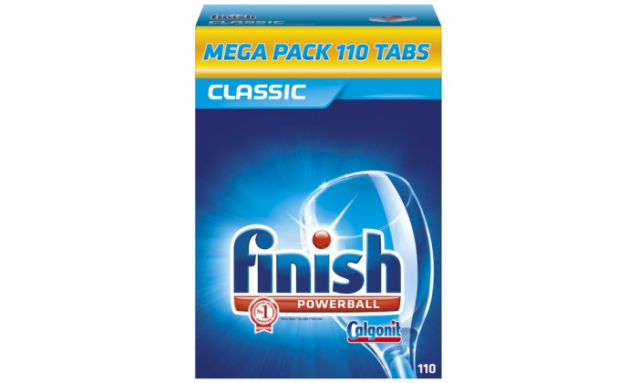 FINISH tablety do myčky 110ks