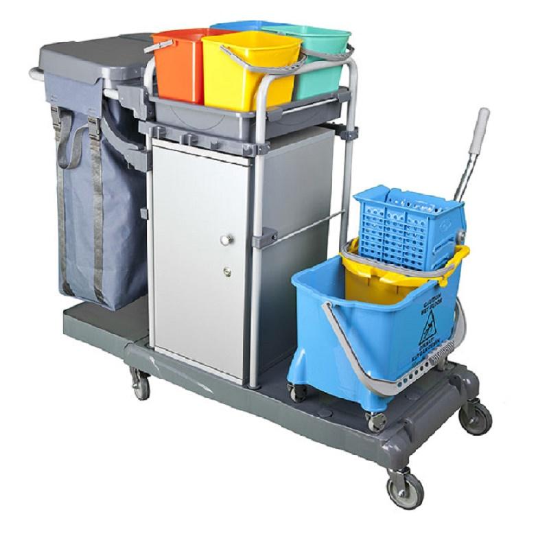 Profesionální úklidový vozík LOCKER EXTRA