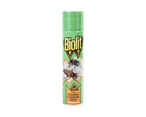 BIOLIT UNI - proti lezoucímu a létajícímu hmyzu 400 ml