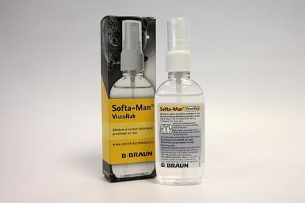 Dezinfekční gel SOFTA-MAN ViscoRub 75 ml