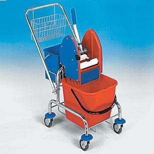 Jednokbelíkový úklidový vozík STANDARD KOMPLET 1 x 17 l 21005CL