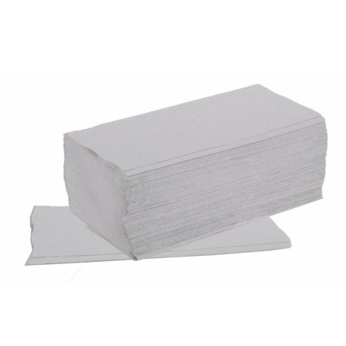 Papírové ručníky ZZ BASIC - šedé 5000 ks