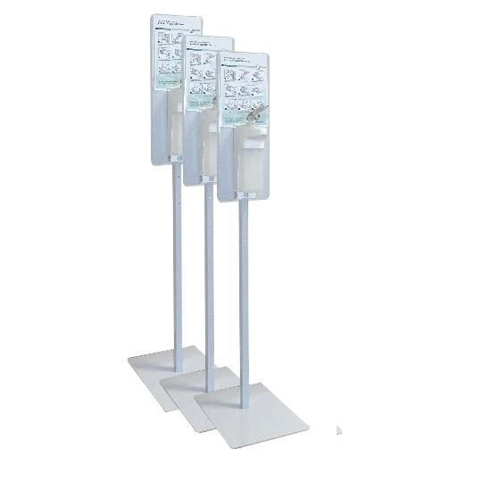 3x STOJAN na dezinfekce extra stabilní 15 kg s pákovým dávkovačem