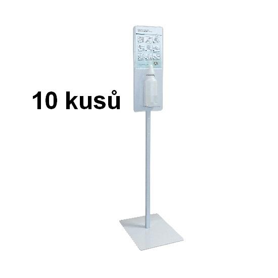 10x STOJAN na dezinfekci extra stabilní 15 kg s pumpičkou