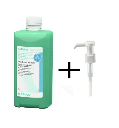 SOFTALIND Hand Sanitizer 500ml s pumpičkou