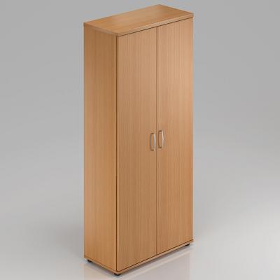 Vysoká šatní skříň V-LINE 80 x 38,5 x 183,5 cm - buk-1KS za akční cenu