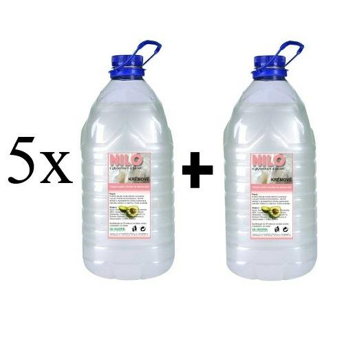Mýdlo tekuté NILO bílé 25l + 5l ZDARMA