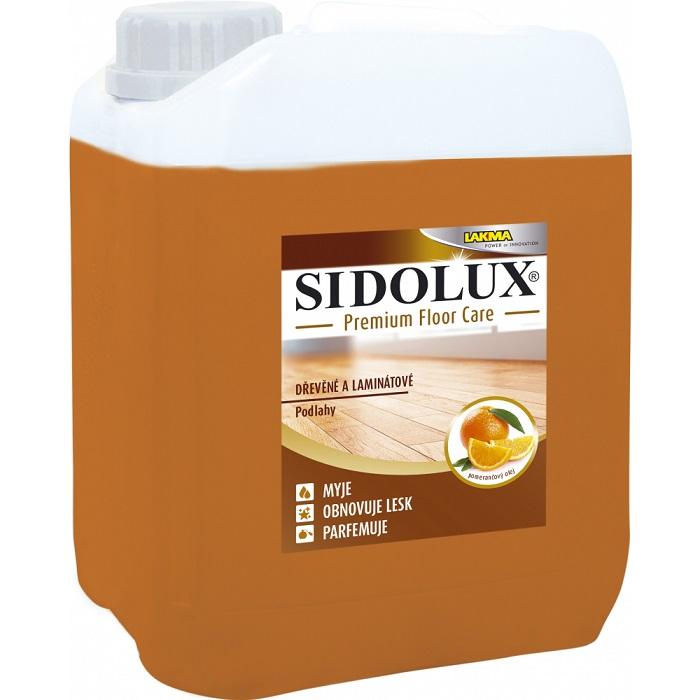 SIDOLUX PREMIUM dřevo a laminát s pomerančovým olejem 5L