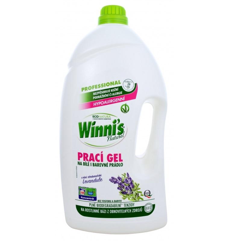 Hypoalergenní prací gel s levandulí vhodný pro děti Winnis LAVATRICE 100 dávek