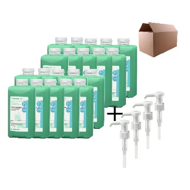 PROMANUM PURE dvacet lahví se čtyřmi pumpičkami 500ml